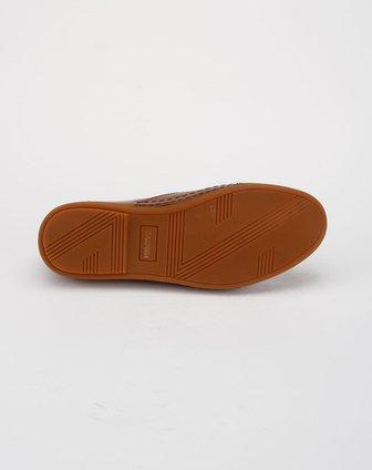 浅棕色休闲皮鞋b56253