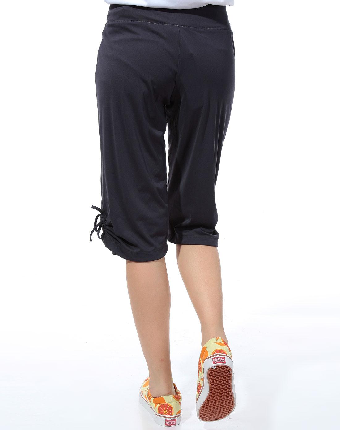 阿迪达斯adidas-藏蓝色运动中裤