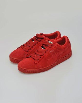 彪马puma中性款深红/深红色鞋子35242113图片