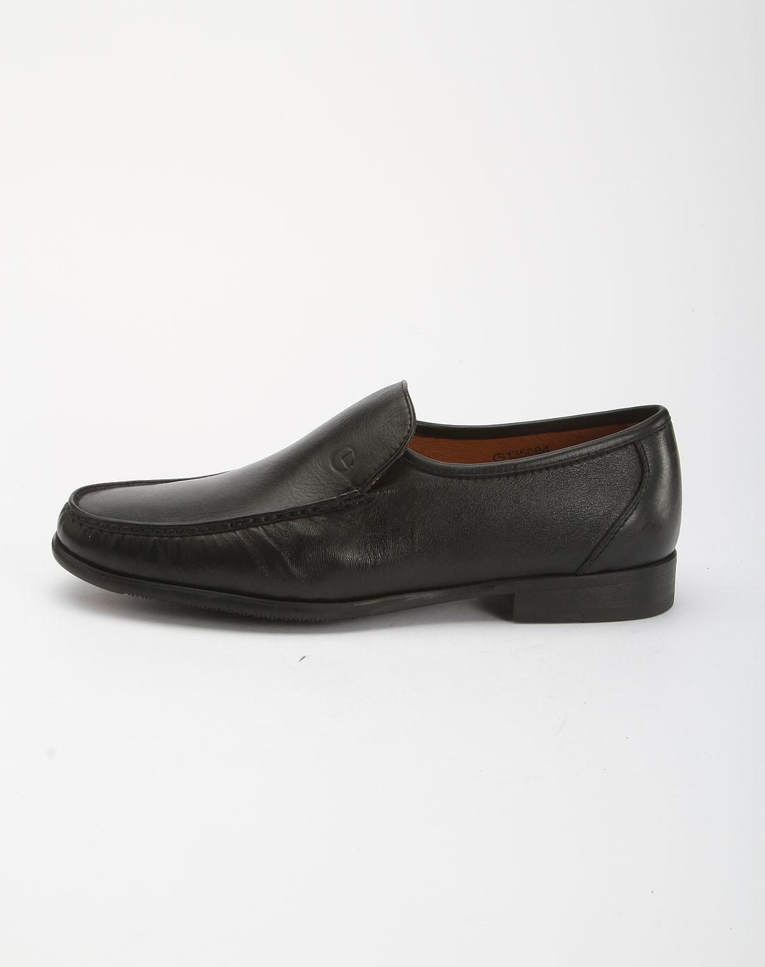 黑色商务皮鞋135084