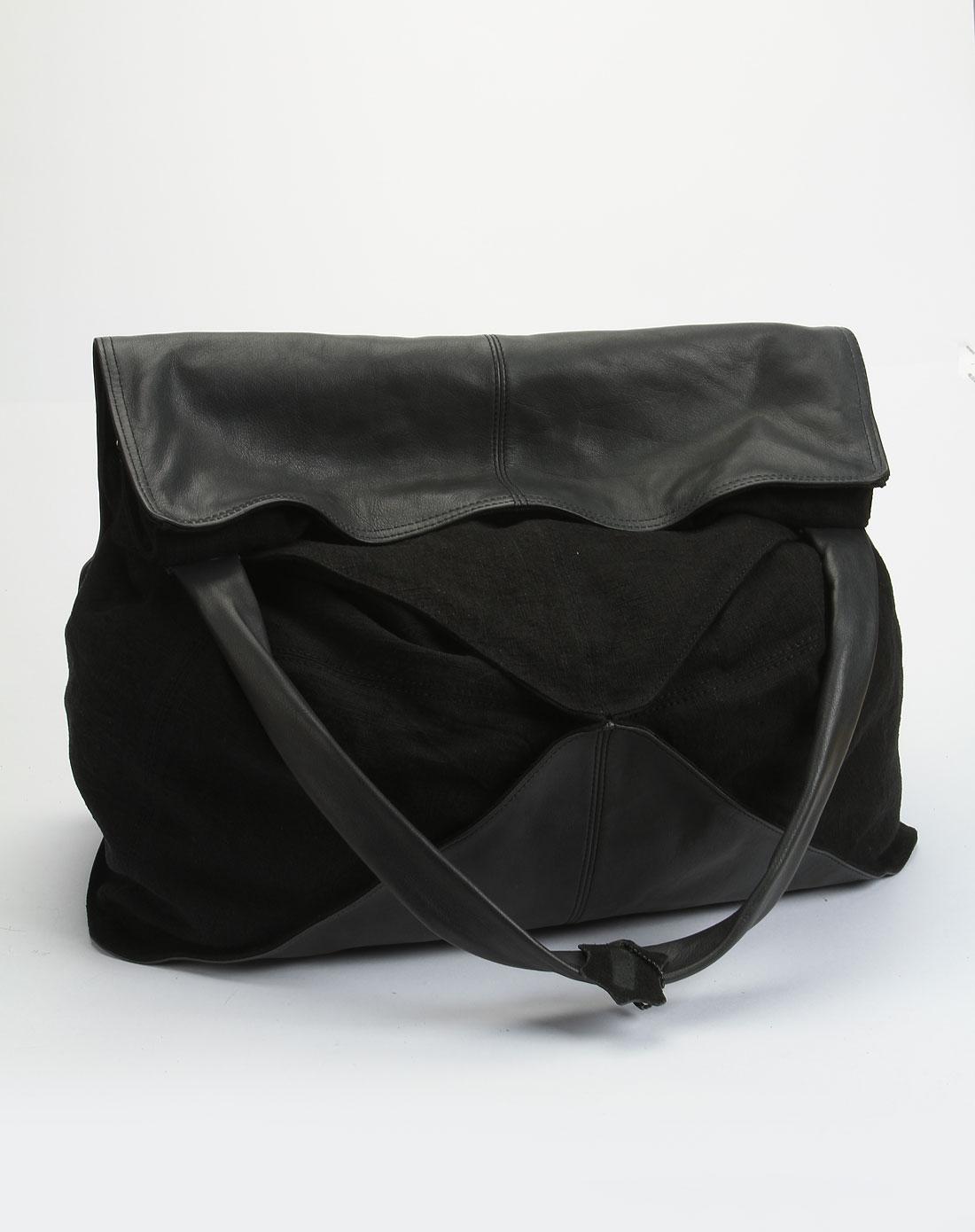 lanafay深灰色时尚单肩包1c007-08
