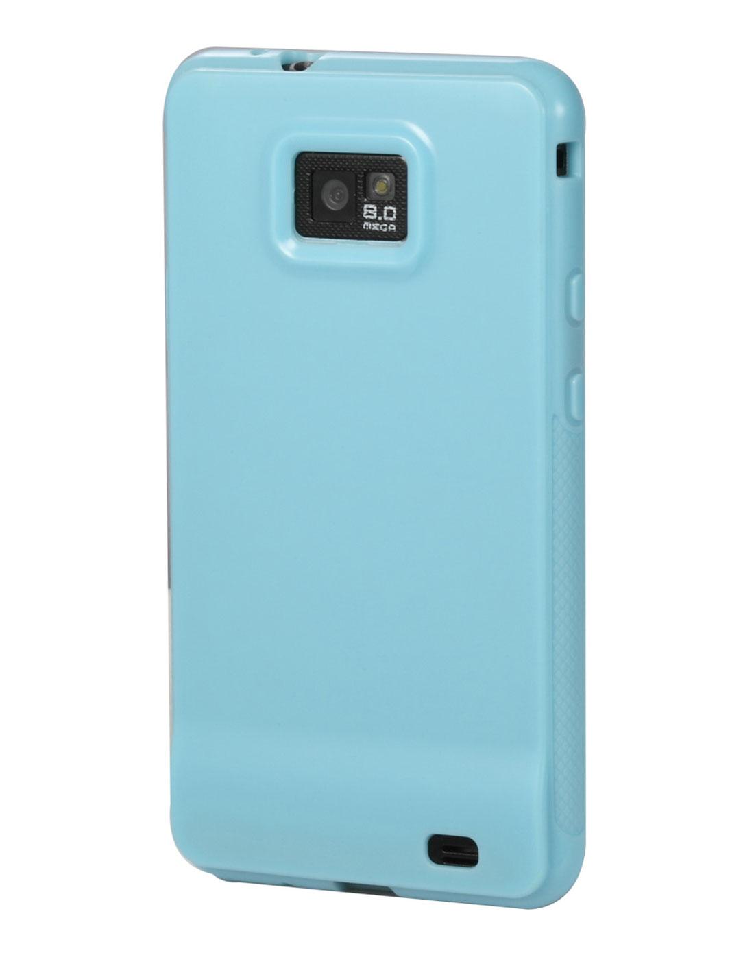 [ 麦利多 ] 三星i9100 蓝色时尚实色手机壳
