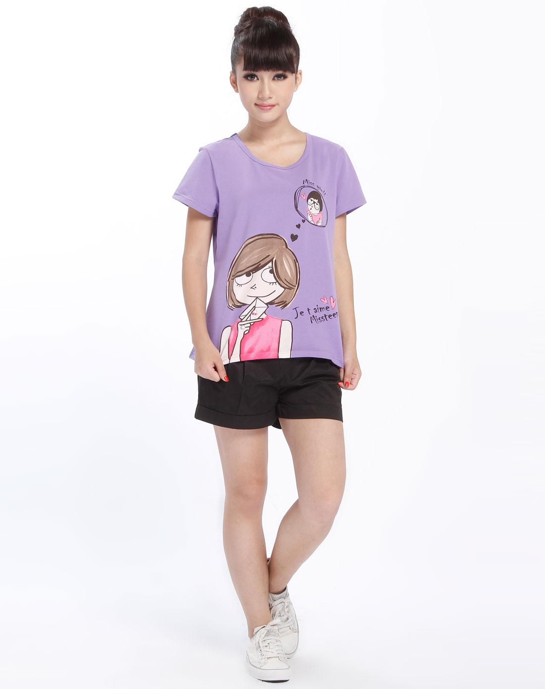 女短袖t恤(6)