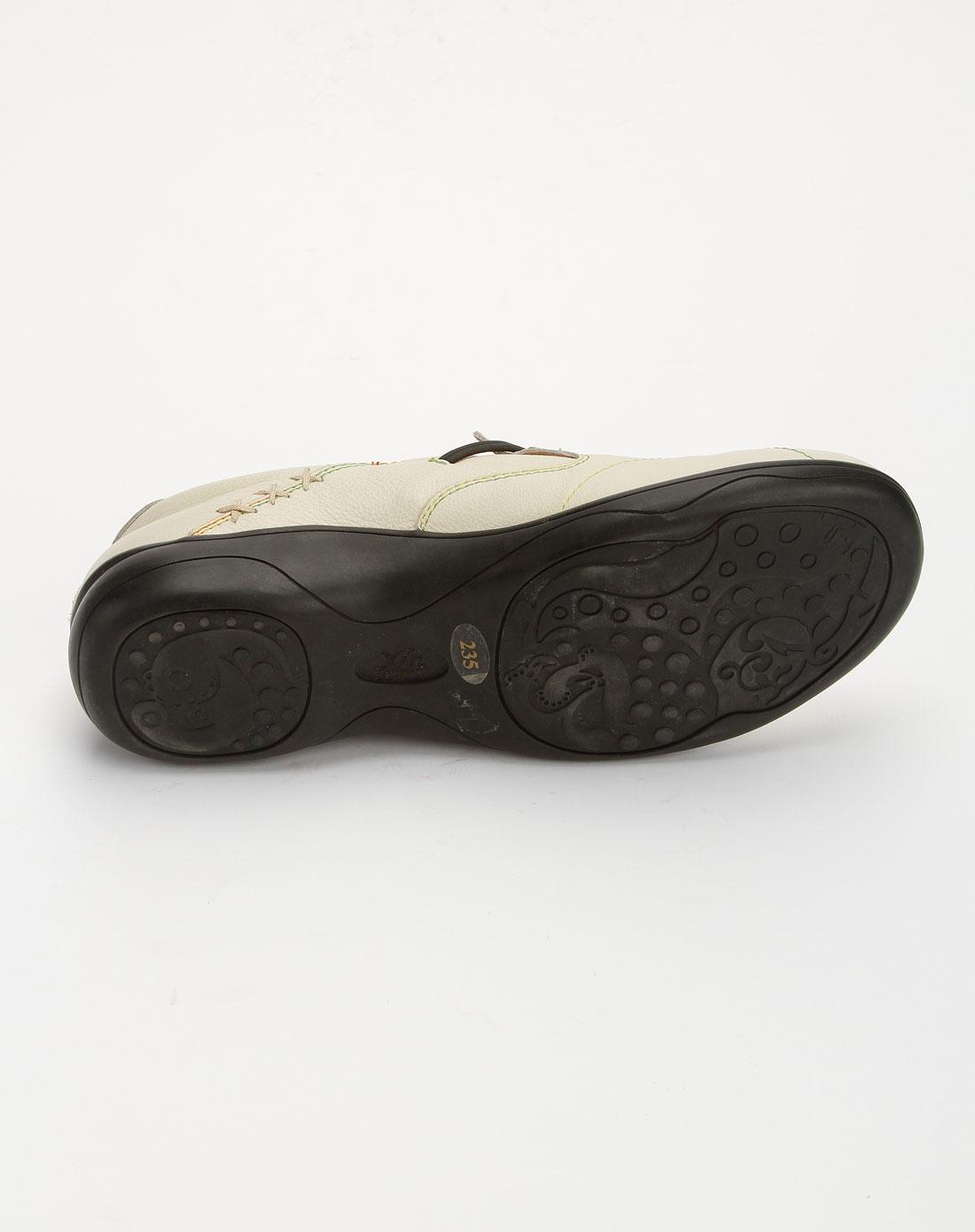 馨宠儿xinchonger女款米白色时尚休闲鞋x01100-05331