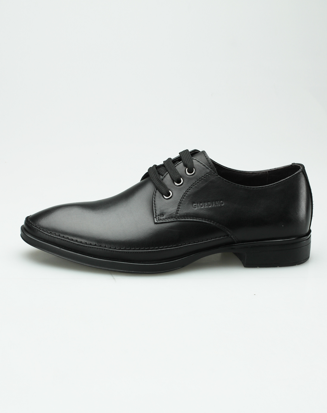 佐丹奴giordano男款黑色休闲鞋