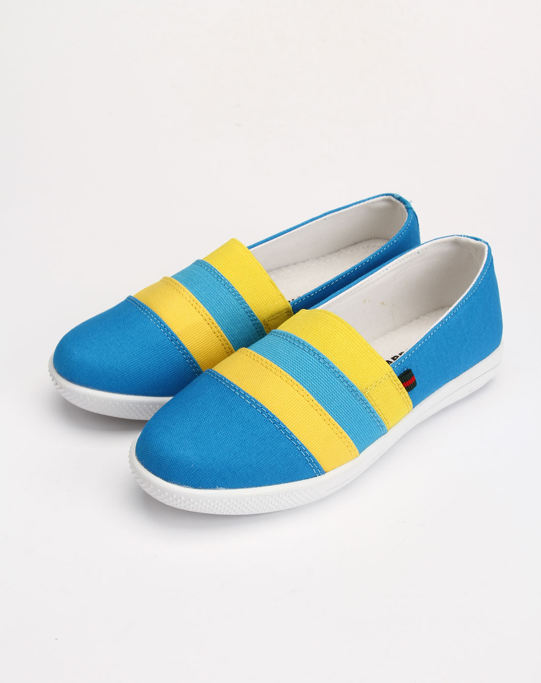 回力warrior男女鞋女款典雅蓝色时尚休闲鞋2272-18