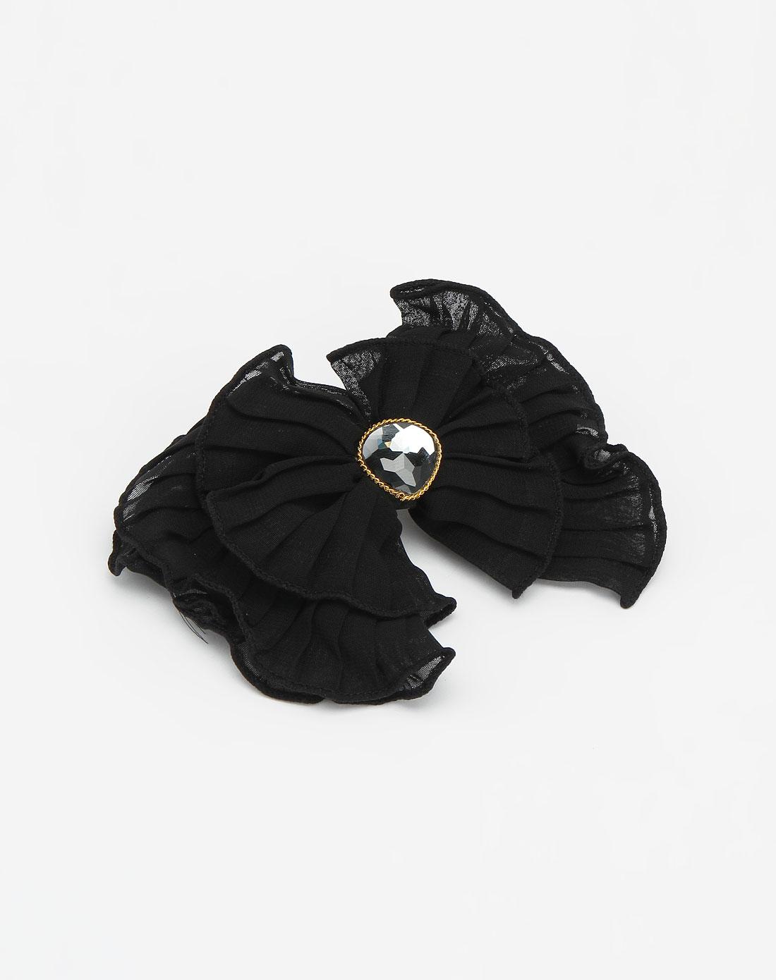 麦朵mado黑色时尚布面发饰