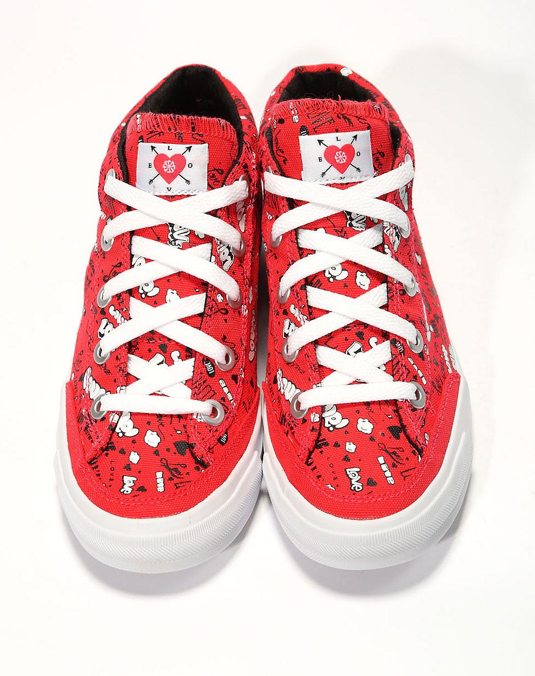 耐克nike女子红色复古鞋487330-600