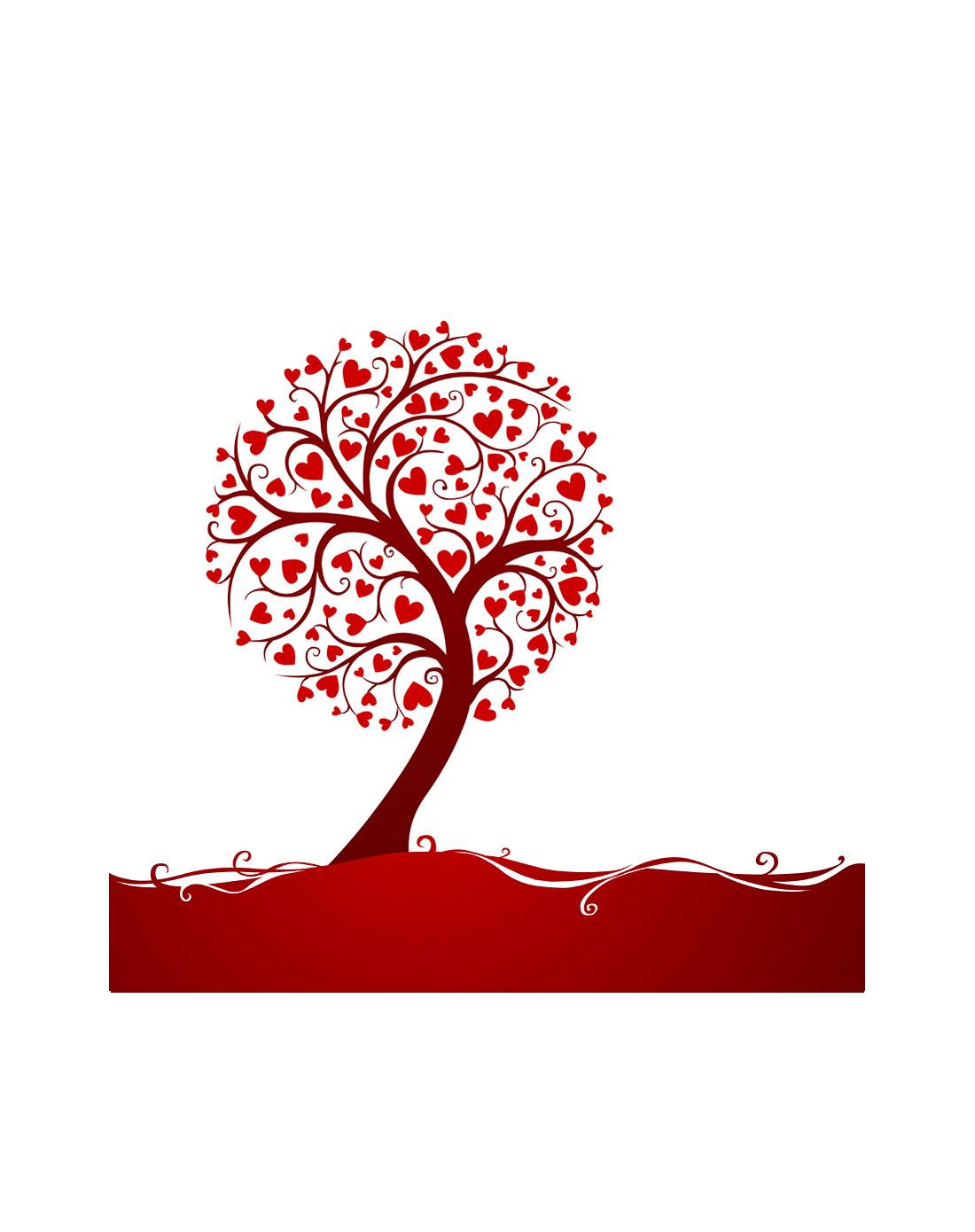 树剪纸图案步骤