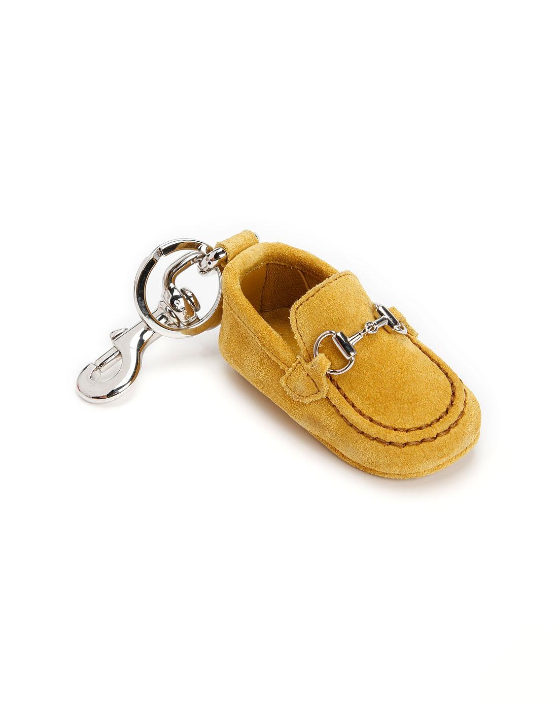 gucci黄色鞋子钥匙扣