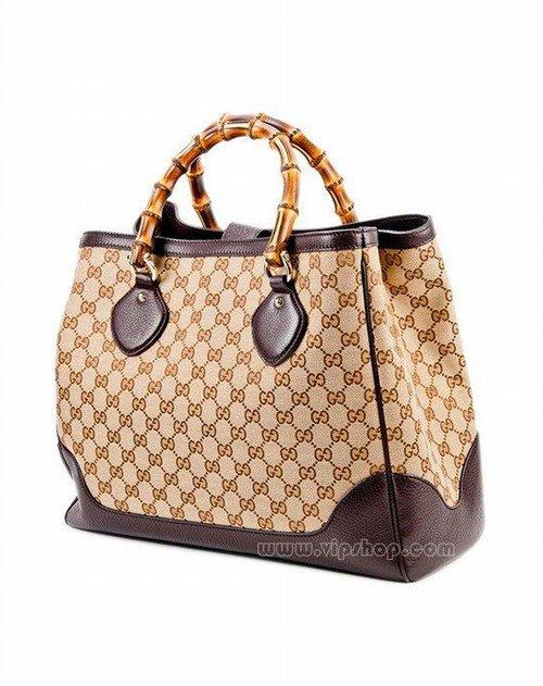 海外直达-guccigucci 女款奢华优雅手提包卡其色