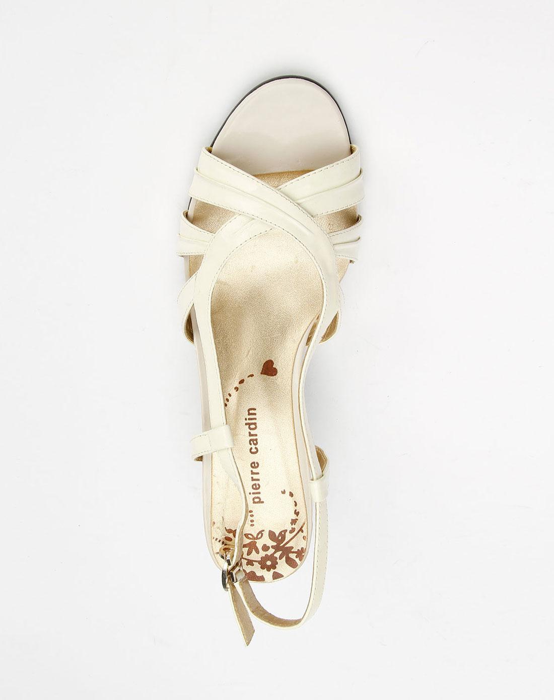 cardin-女鞋专场米白色时尚凉鞋