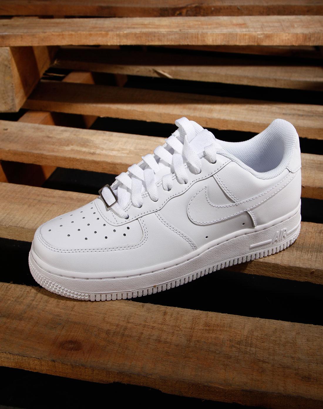 耐克nike女款白色绑带时尚运动鞋315115-112