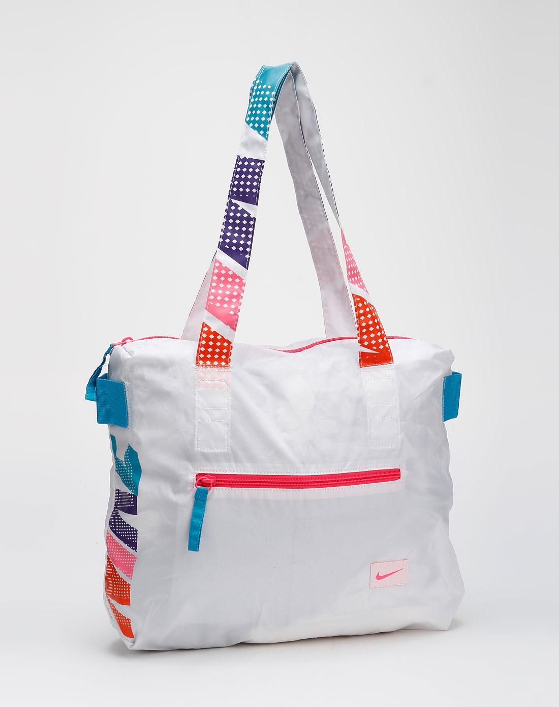 耐克nike女款白色时尚手提包ba3063-196