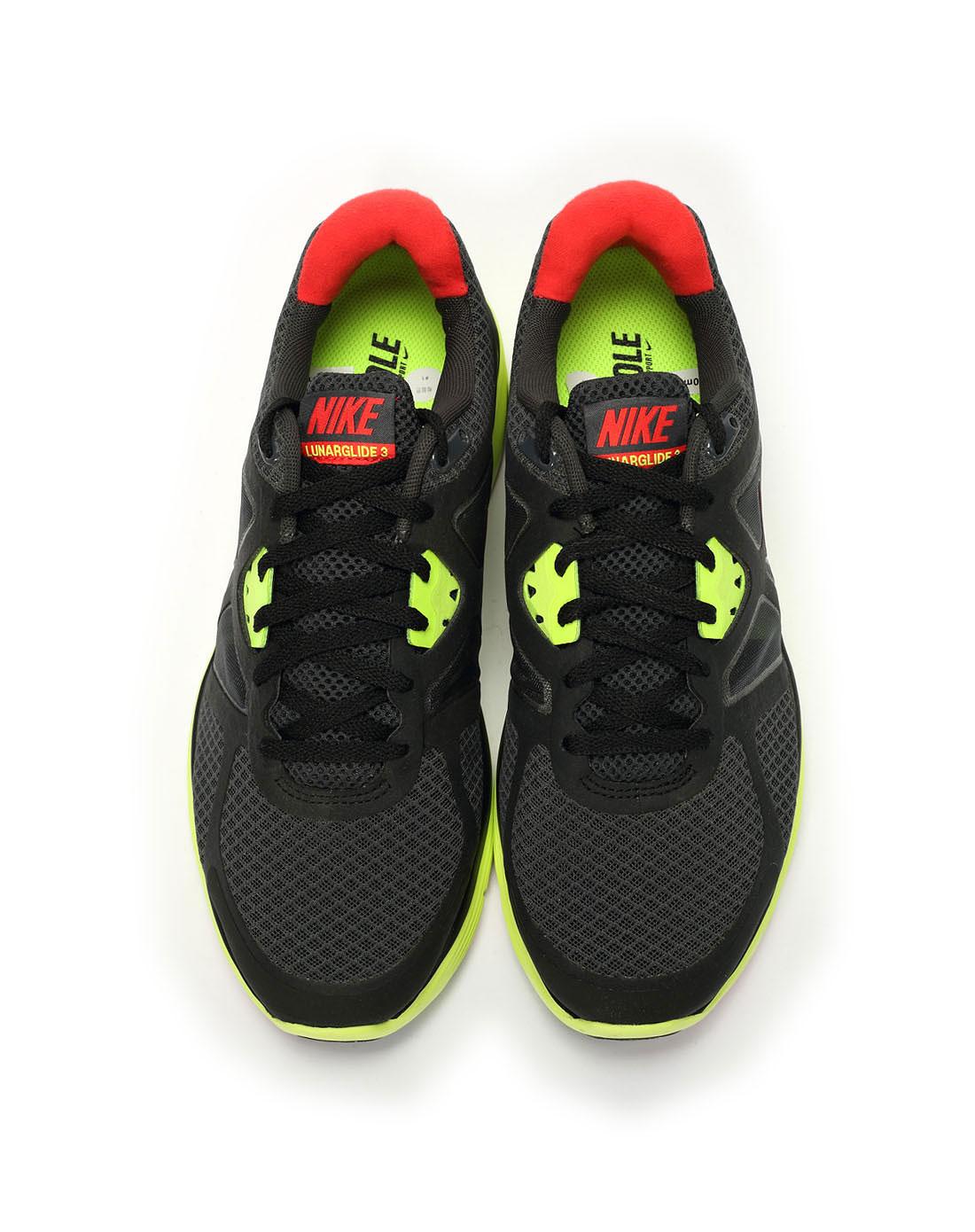 耐克nike男子黑色跑步鞋454164-016