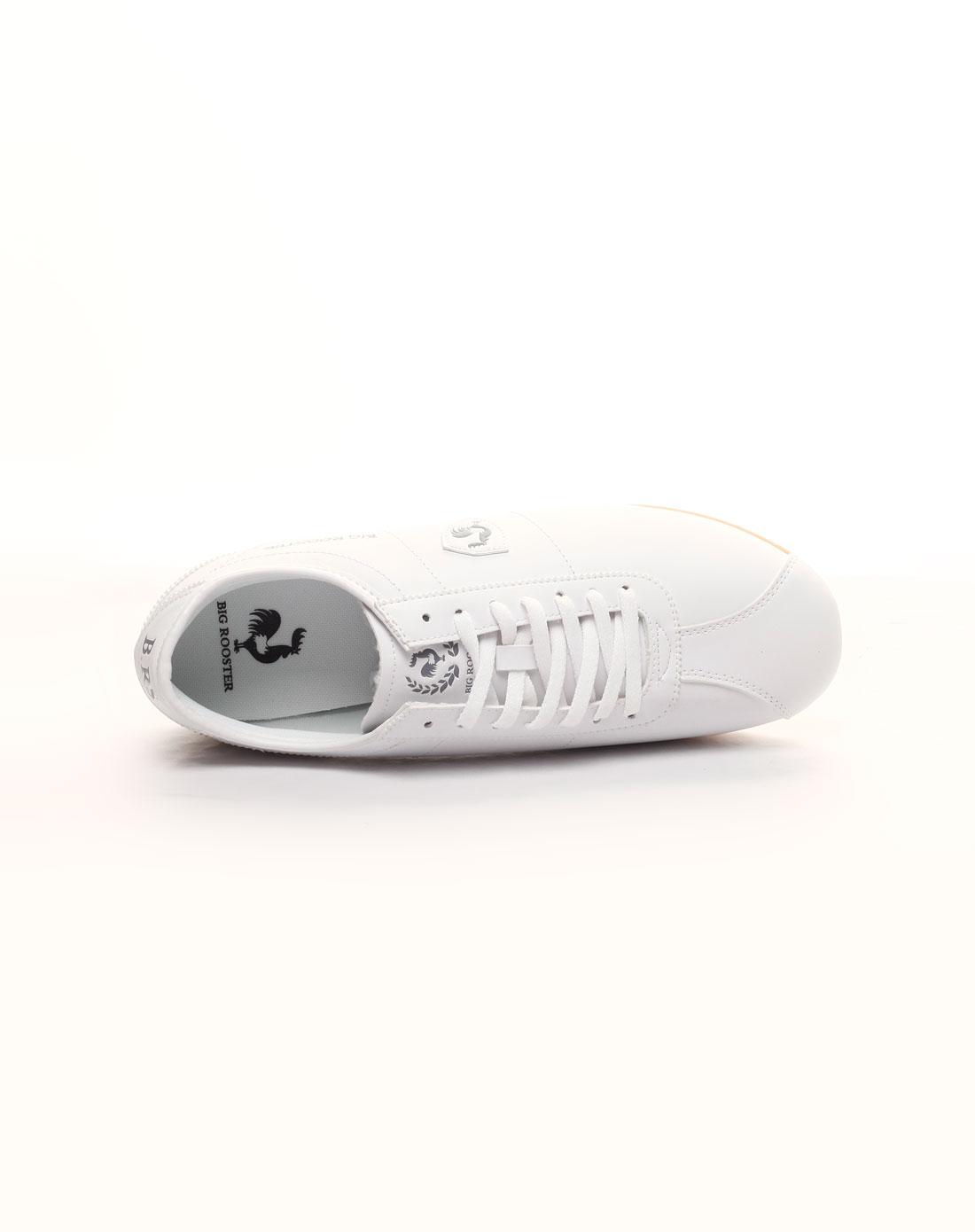 rooster白色简约运动鞋rs71037-4