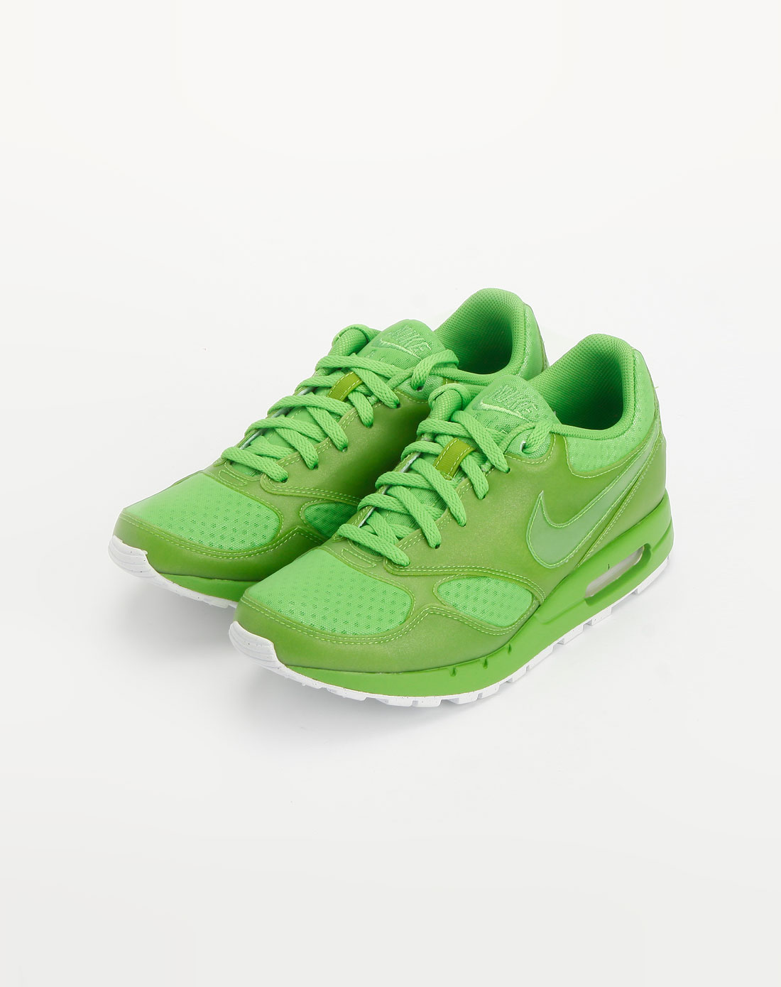 耐克nike-绿色休闲系带运动鞋
