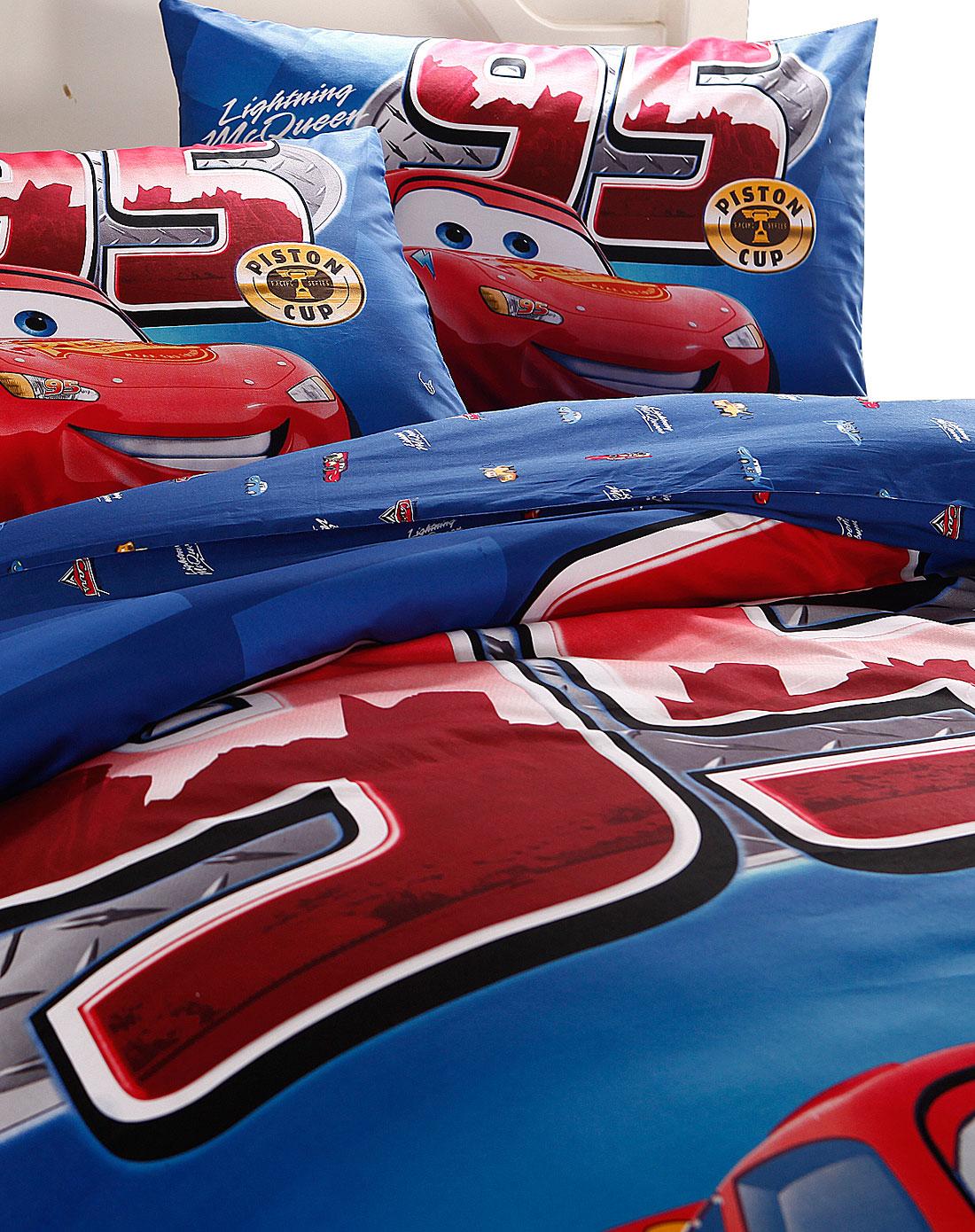 1.8m四件套-蓝红汽车总动员