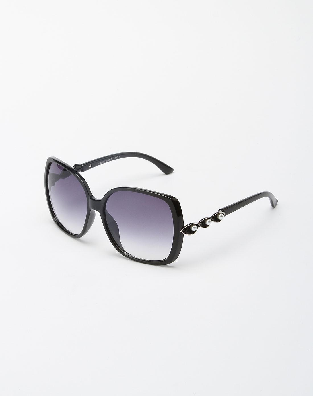 bailewei配件专场黑色欧式复古太阳眼镜7blw