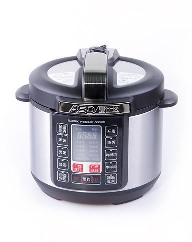 爱仕达asd电器专场黑/银6l电压力锅ap-y6017e
