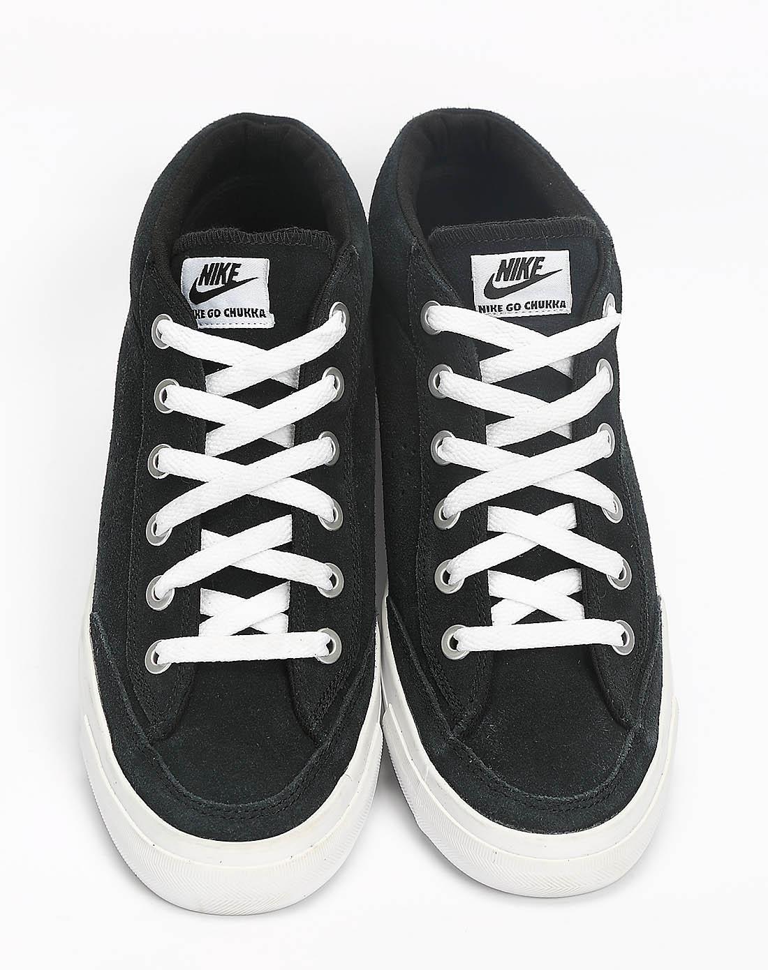 耐克nike男子黑色复古鞋487335-001