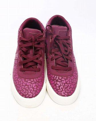 耐克nike女子紫红色复古鞋454538-601