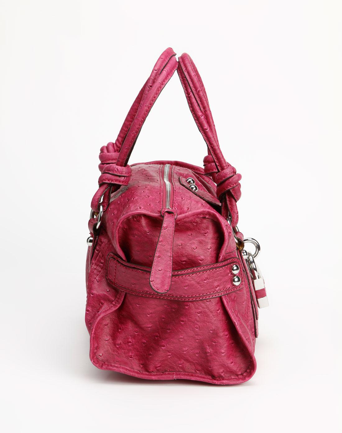 guess女款玫红色点纹手提包hwvo2584260pin