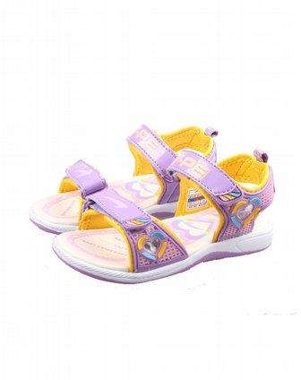 七波辉 ] 女童新浅紫女款凉鞋