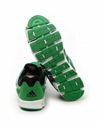 绿色跑步鞋g61685