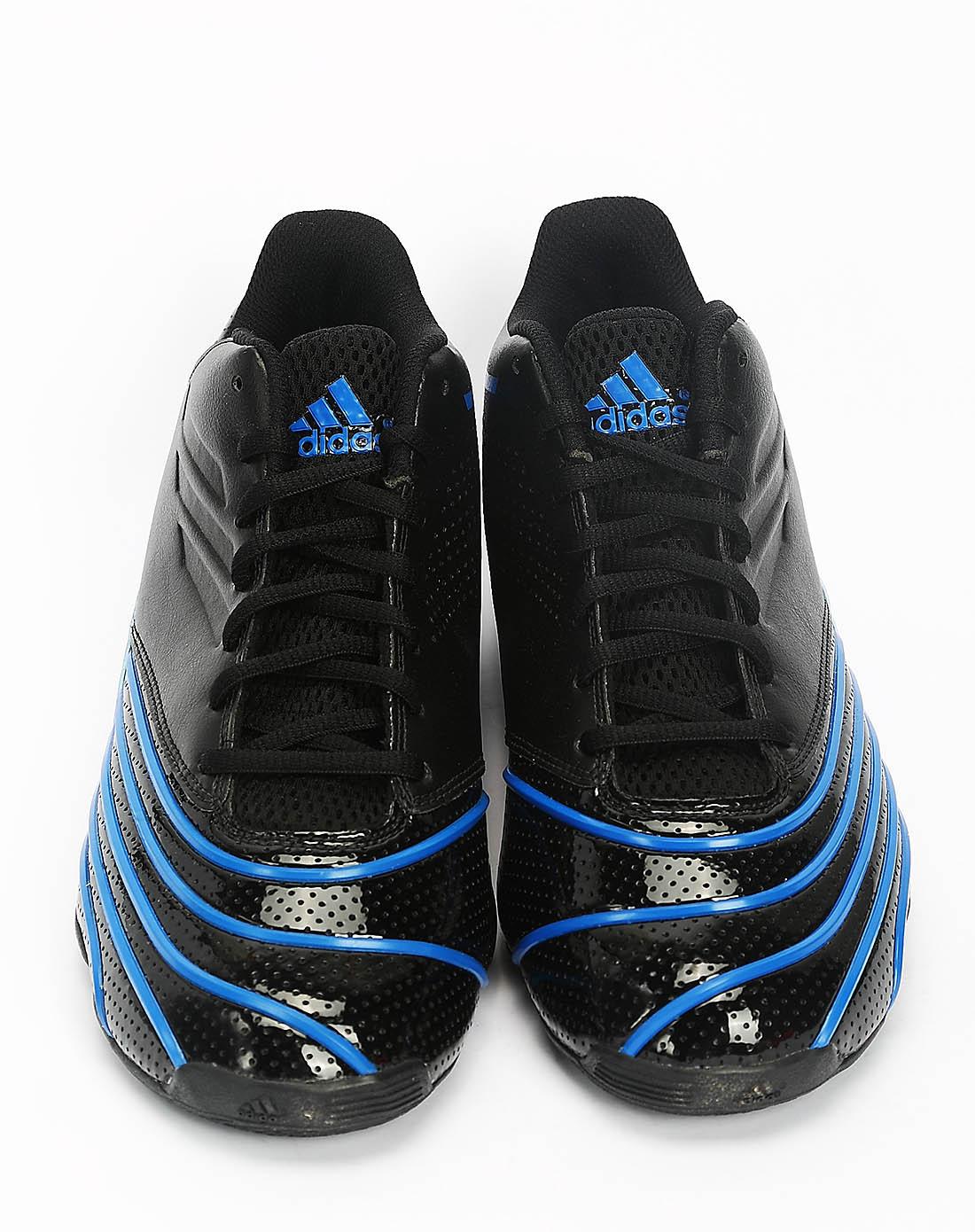 阿迪达斯adidas男女鞋男子黑色篮球鞋g20212