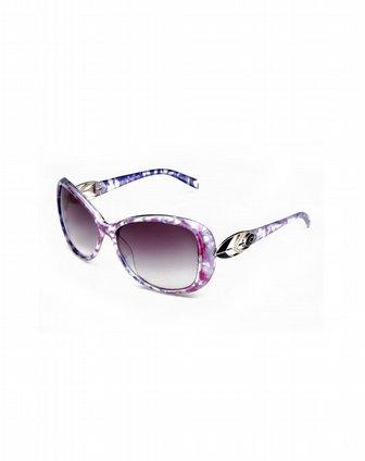 [ 帕莎 ] 女款紫色花纹太阳镜