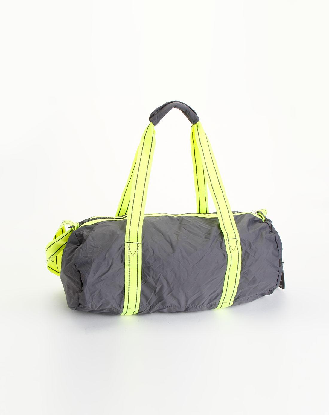 耐克nike-包包中性灰/青绿色两用小桶包