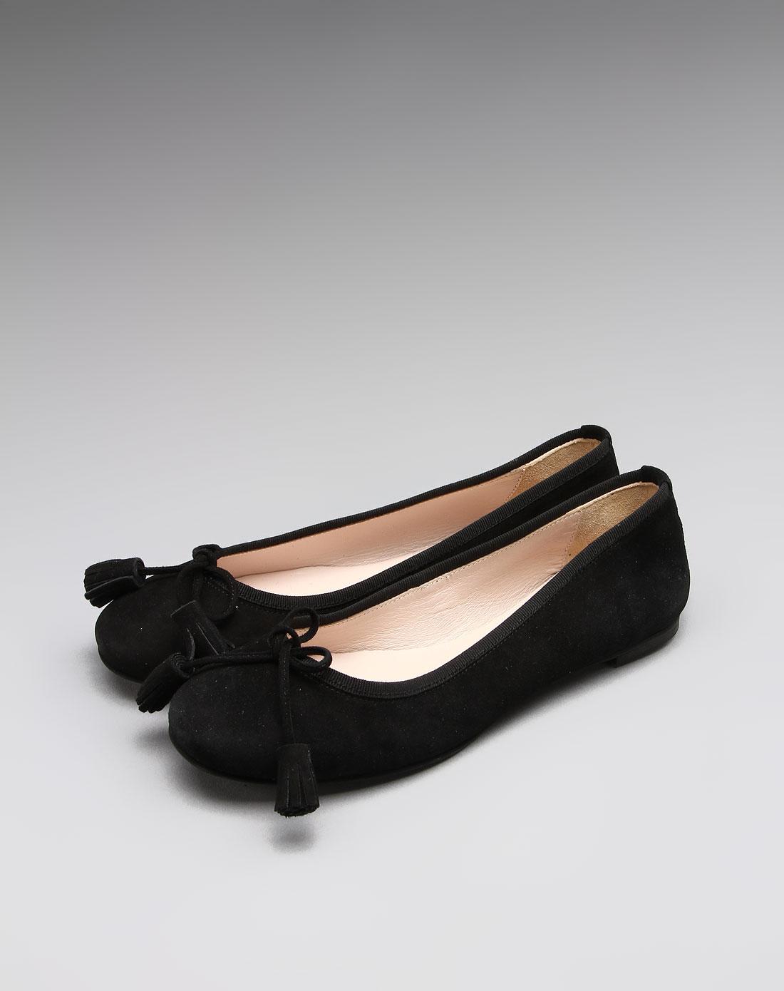 女款柔美淑女气质牛皮平底鞋