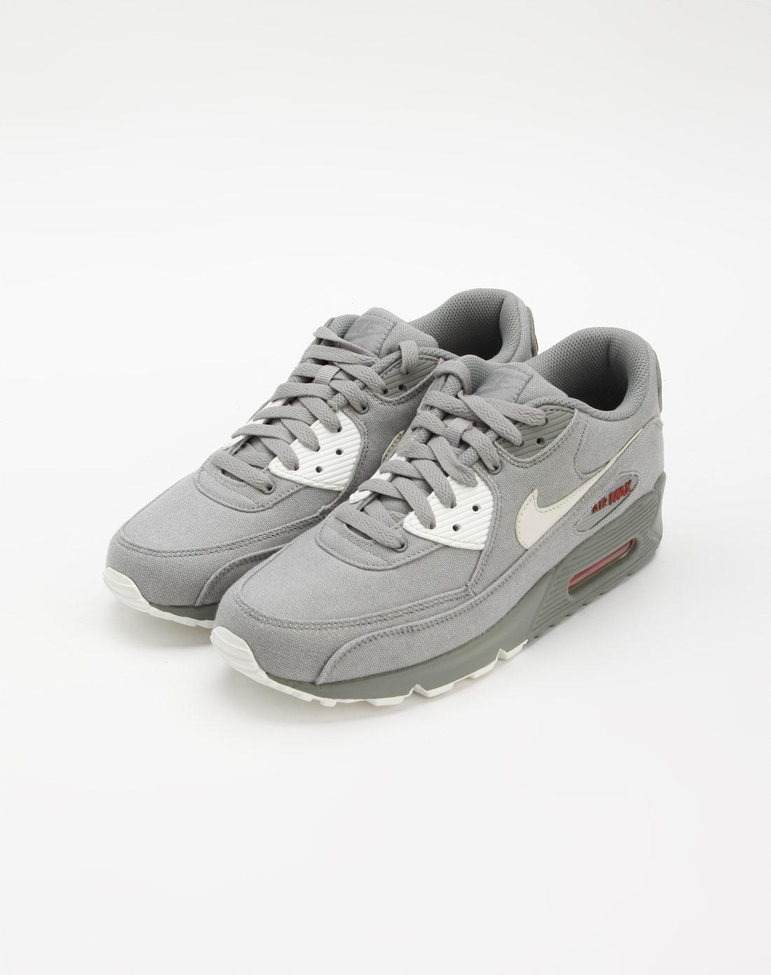 耐克nike灰/白色气垫运动鞋345188-003