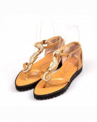 foxyafox女鞋专场平跟平底凉鞋