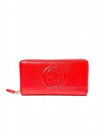 国际速递-gucci女士长钱包红色291102-7m0g-6523