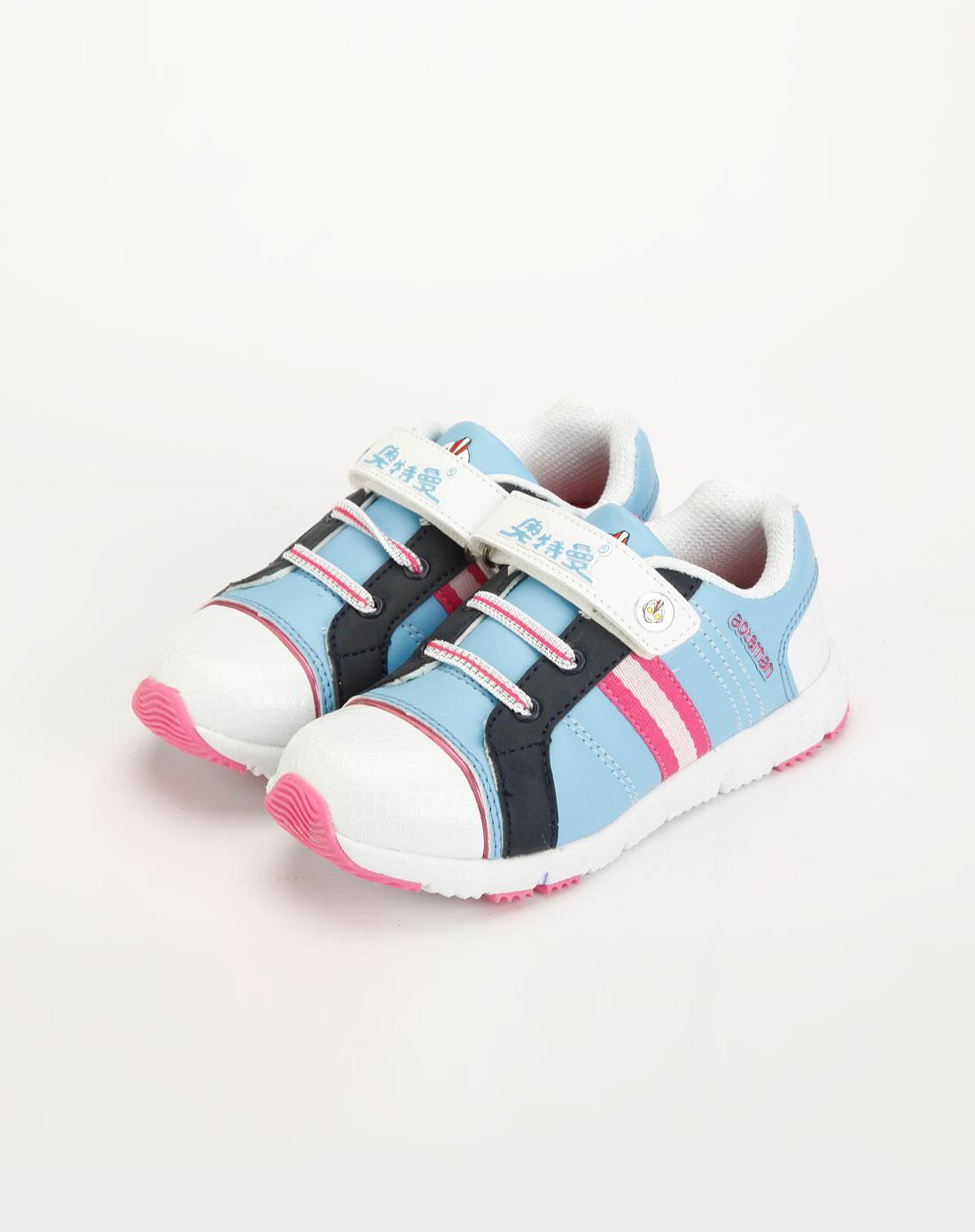 童鞋专场奥特曼 女童白/蓝/黑色休闲运动鞋