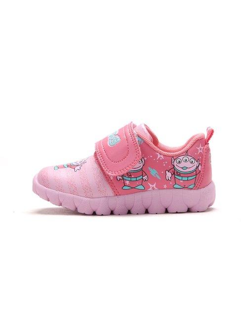 小叮当 女宝宝叮当粉可爱卡通运动鞋
