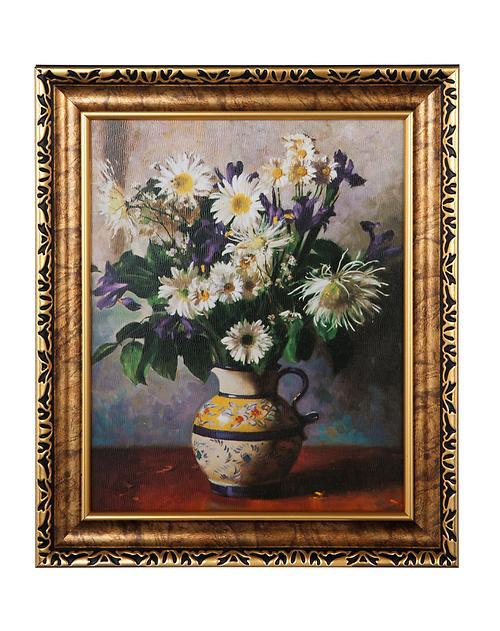 欧式装饰画-印象雏菊图片